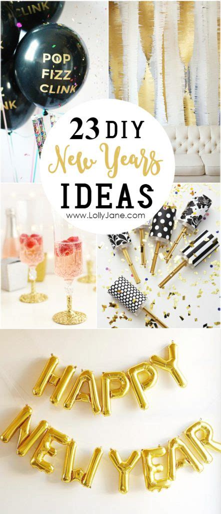 new year 2016 diy decorations 23 diy new years ideas lolly