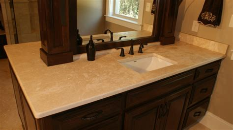 Travertine Marble Bathroom by Marble Travertine Countertops