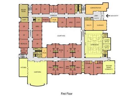 elementary school floor plan elementary school floor plans new abraham lincoln