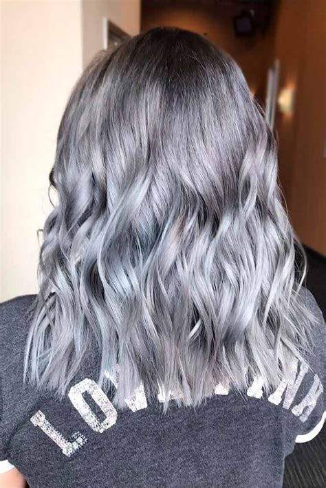 what enhances grey hair the trendy hair color if you are naturally going gray you