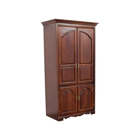 armoire with tv storage 88 off broyhill broyhill tall wooden tv armoire storage