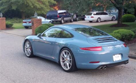 100 Porsche Blue Paint Code 2017 Porsche 911 Turbo