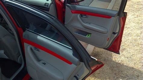 Audi A4 B6 Custom Interior by A4 B6 Matching The Interior Quot Wood Quot Trim To Exterior Color