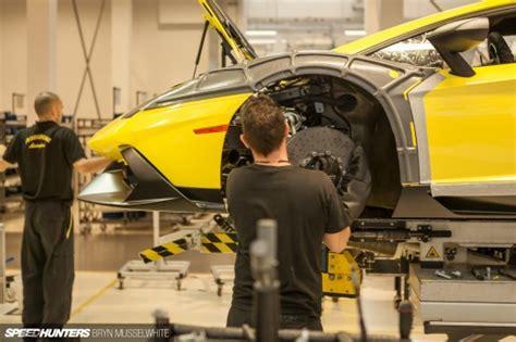 Lamborghini Aventador Production Lamborghini Factory Italy Aventador Production Line 19