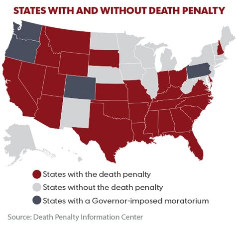 map of us states that the penalty courts states put penalty on support