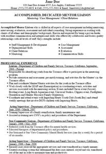 Child Welfare Social Worker Sle Resume by Mentoring Social Work Resume Objectives Professional Experience Supervisor
