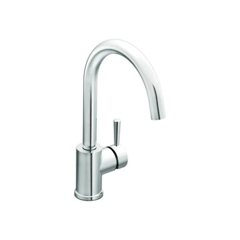 Moen 7100 Kitchen Faucet by Moen 7100 Chrome Single Handle Kitchen Faucet From The