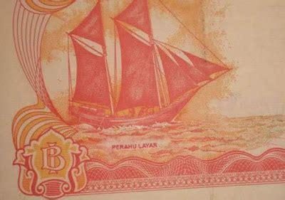 Uang Kuno Rp100 Tahun 1992 Perahu Penisi Seri Bgm242802 uang kuno misteri rp100 perahu layar