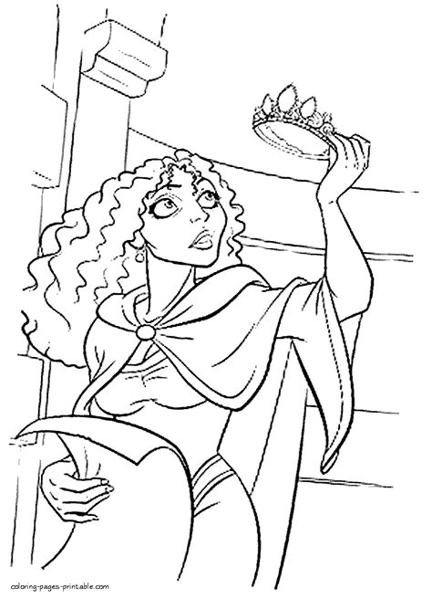 coloring pages disney villains free disney villains coloring pages coloring home