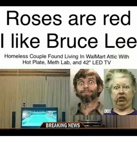 living in the attic of walmart roses are like bruce homeless found living