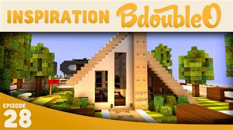 minecraft house inspiration minecraft a frame modern house 2 inspiration w