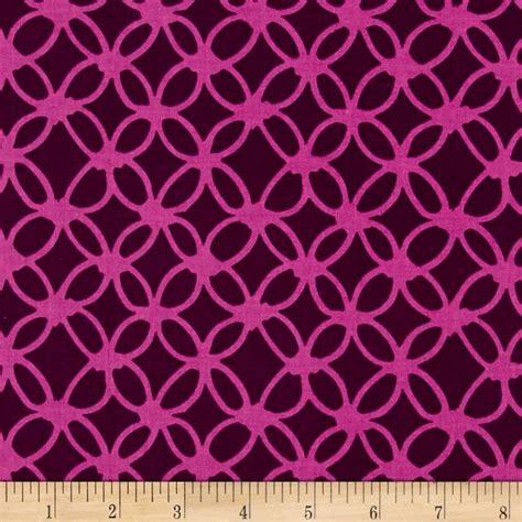 Macrame Fabric - cotton steel macrame knotty grape discount designer