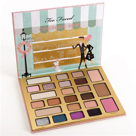 Eyeshadow Shop by Sneak Peek Faced The Chocolate Shop Palette Photos