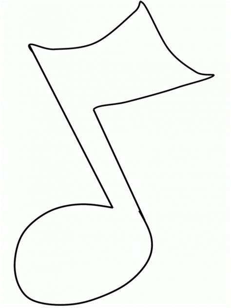Musical Notes Coloring Pages free printable note coloring pages for