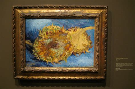 picasso paintings musee d orsay mus 233 e d orsay vincent gogh s two cut sunflow