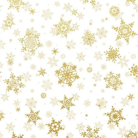 free snowflake background pattern gold snowflakes seamless pattern with white backgrounds