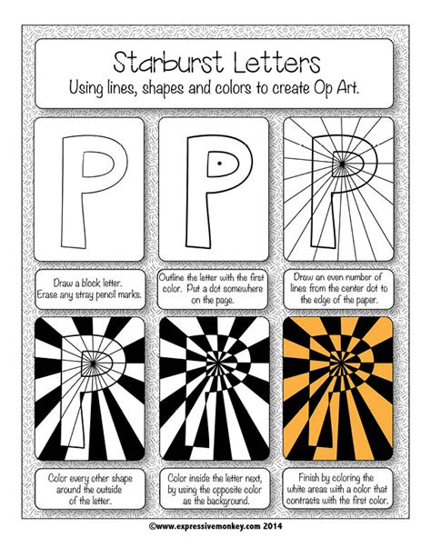 design cover lesson art lesson op art using positive negative shapes op