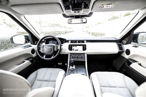 land rover black inside 2015 range rover sport supercharged review autoevolution