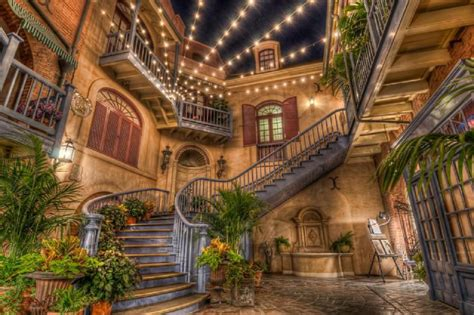 What Style Of Architecture Is My House by New Orleans Square Disneyland Pixdaus