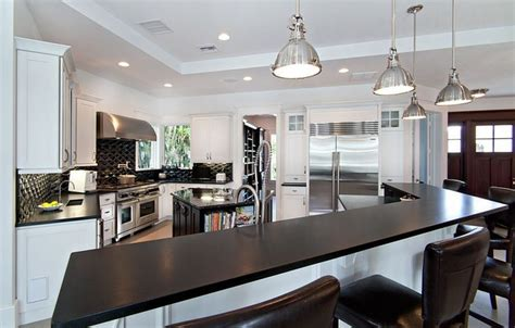 Black Granite Kitchen Countertops Absolute Black Granite Contemporary Kitchen Miami By Marble Of The World