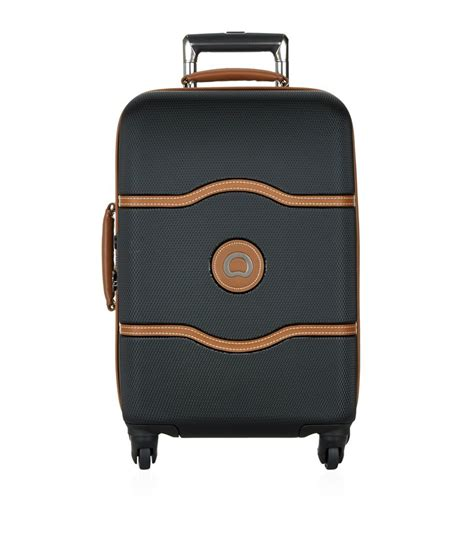 delsey cabin trolley delsey chatelet cabin trolley 55cm in black for