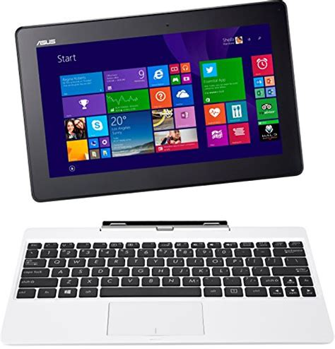 Laptop Asus Transformer Touchscreen asus transformer book 10 1 t100ta c1 wh s detachable 2 in 1 touchscreen laptop 64gb white