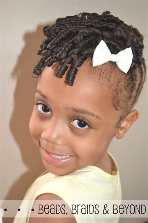 little girl hairstyles updo little girls natural hairstyle flexi rod updo with
