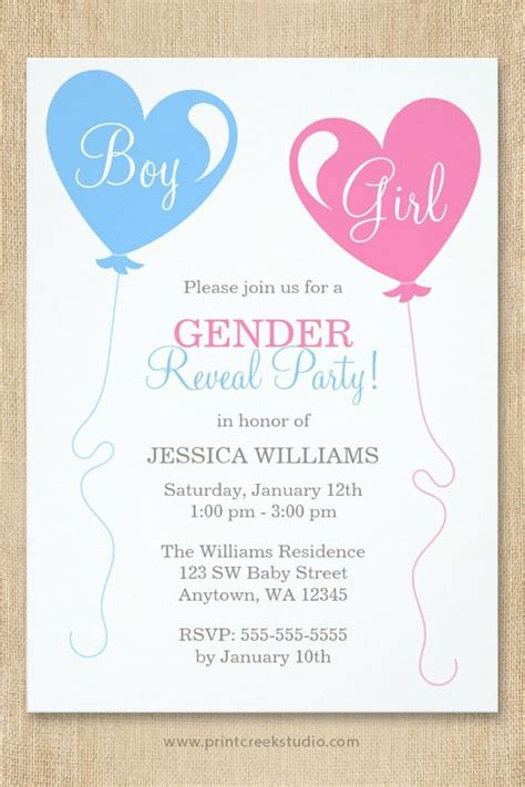 Baby Shower Gender Reveal Invitations by Best 25 Gender Reveal Invitations Ideas On