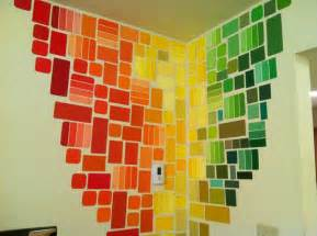 Awesome Wall Murals free wall art with paint chips paint chip art
