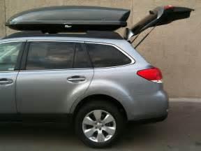 Subaru Roof Box Yakima Thule Roof Cargo Box Thread Subaru Outback