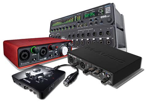 Mixer Untuk Home Recording audio interface soundcard terbaik untuk memulai home