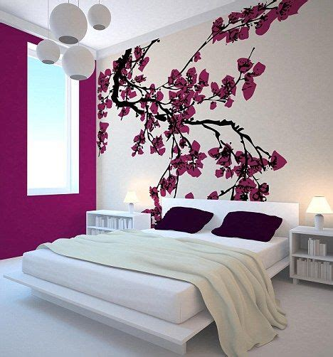 japanese cherry blossom home decor modern japanese bedroom with cherry blossom wall decor