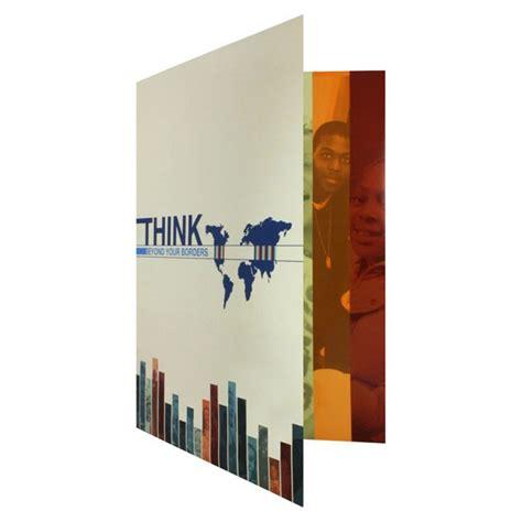 Tri Fold Paper Folder - folder design tri fold paper folders by world savvy