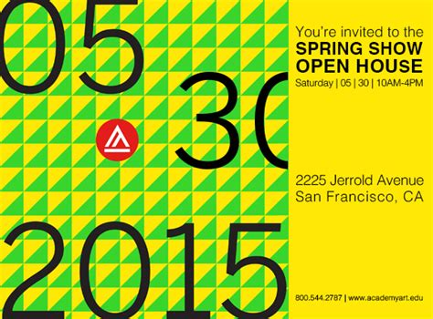 Sf State Mba Open House by Academy Of S 2015 Show And Open