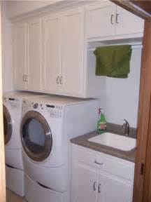 Laundry Room Sinks And Cabinets Custom Laundry Room Cabinet Storage Solutions Ds Woods Custom Cabinets Decatur Indiana