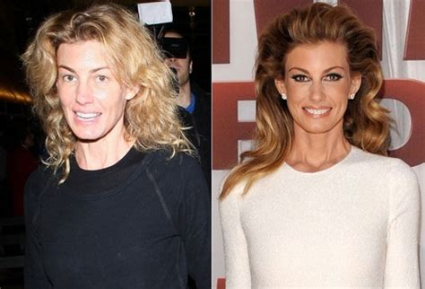 The Of Photoshop Faith Hill by Without Makeup Amazing You