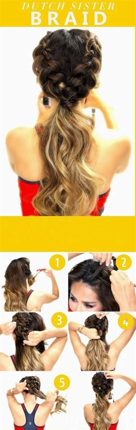 teen hairstyles step by step 25 best ideas about quick school hairstyles on pinterest