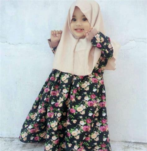 Gamis Anak Untuk Usia 2 3 Tahun model baju muslim terbaru 2017 idebajumuslim