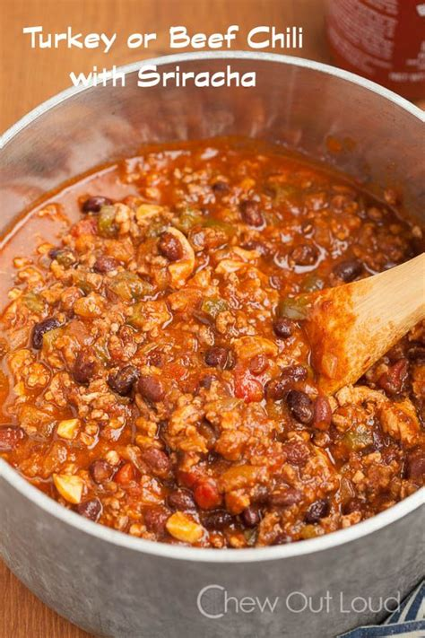 recipe for chili with ground turkey the world s catalog of ideas