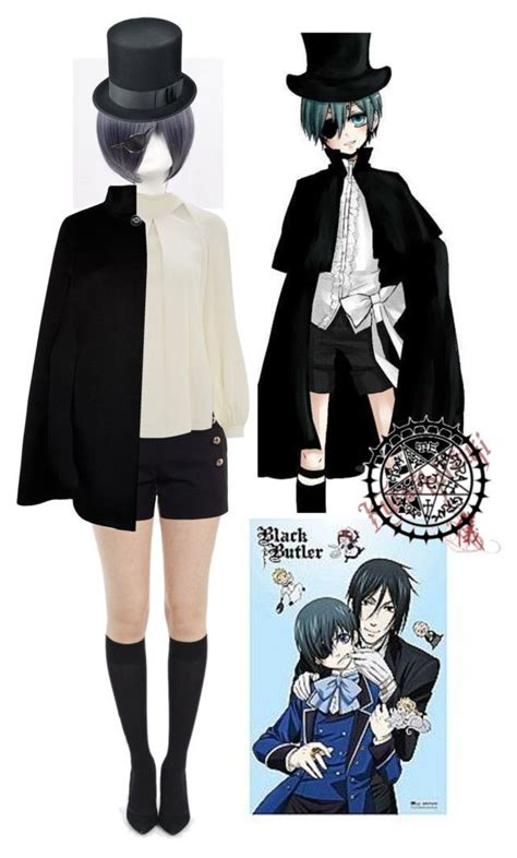 ciel phantomhive black butler easy cosplayhalloween