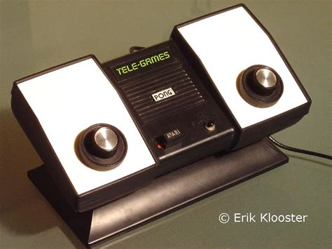 atari pong console pong consoles from the 70ies