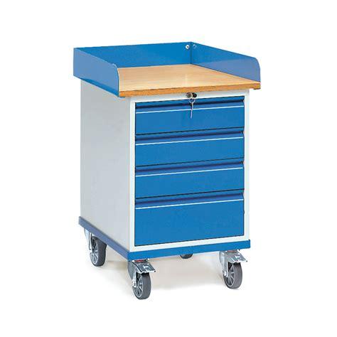Schubladen Bestellen by Rollschrank Mit Vier Abschlie 223 Baren Schubladen 01600100