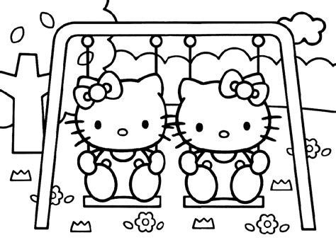 swing color slide and swings colouring pages page 2 az coloring pages