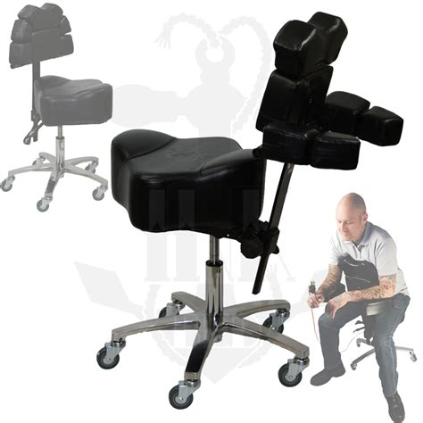 tattoo furniture inkchair inkstool deluxe ergonomic client artist
