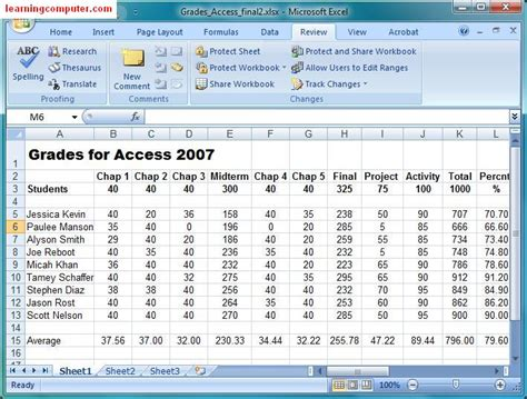 excel 2013 tutorial 11 review assignment microsoft excel 2007 review tab softknowledge s blog