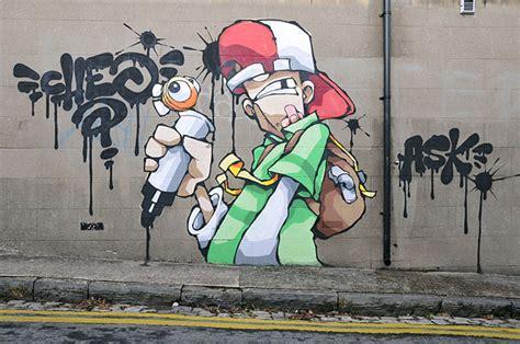 imagenes geniales de graffitis graffitis en paredes imagui