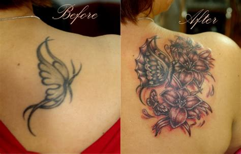 upper arm tattoo cover up designs back cover up ideas for