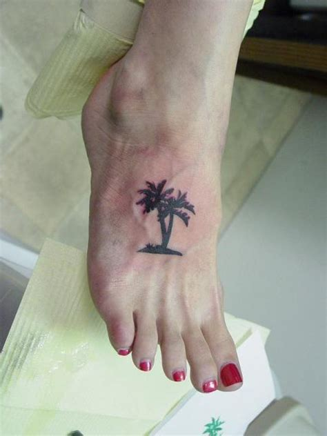 tattoo on palm palm tree tattoos