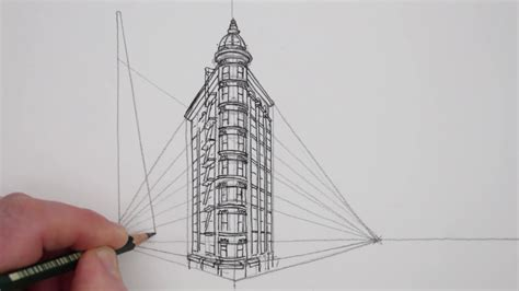 draw building how to draw in 2 point perspective buildings san