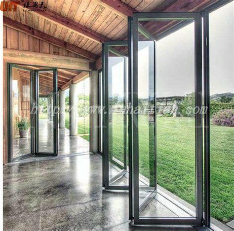 exterior glass wall panels cost energy saving em pvc de correr e porta de dobradura com